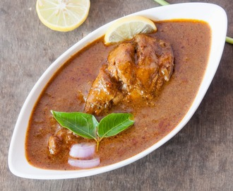 Chicken Curry with Roasted whole spices