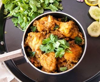 Kerala Chicken /  Chicken Varattiyathu / Chicken Roast
