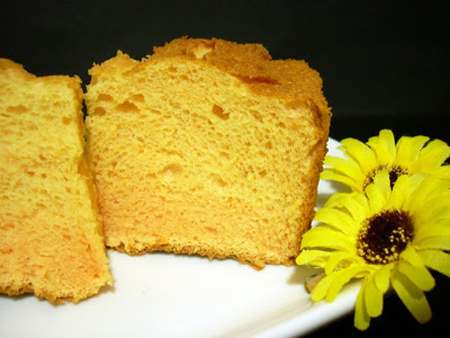 Angel Food Cake de Melocotón