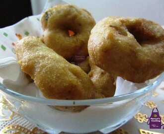 Uzhunnu Vada - A South Indian dish