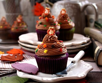 Chocolate & Cinammon Cupcakes
