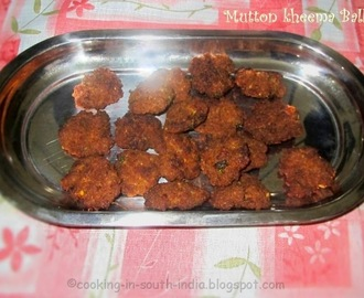 Mutton Keema balls | Kola Urundai | Deep Fried Minced meat Balls