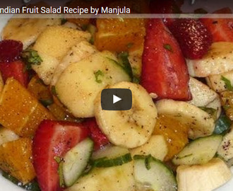 Fruit Chaat Recipe Video