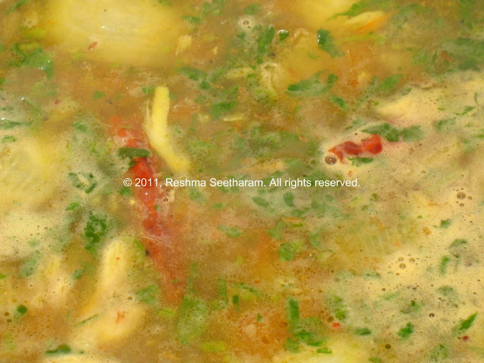Jeera Pepper Rasam/ Cumin Pepper Soup