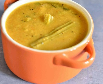 Drumstick Sambar Recipe With Step By Step Pictures| Easy Bachelor Recipes