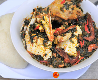 Simple Efo Riro (Nigerian Vegetable Soup)