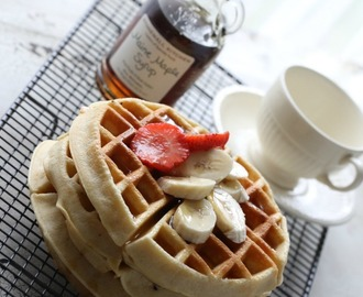 Waffles made with love + bok give-away med Det søte liv