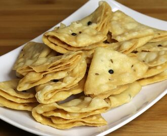 Manjula's Kitchen Nimki (Salted Fried Crackers) Post navigation