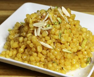 Manjula's Kitchen Sweet (Boundi) Boondi Post navigation
