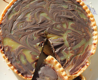 Sinner Thursdays - Salted Caramel and Chocolate Tart