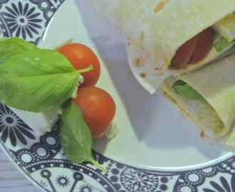 Recept: Mozzarella – tomaat wraps