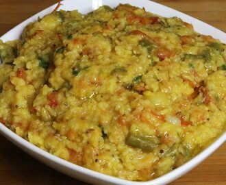 Manjula's Kitchen Masala Khichdi (Rice and Moong Dal) Post navigation