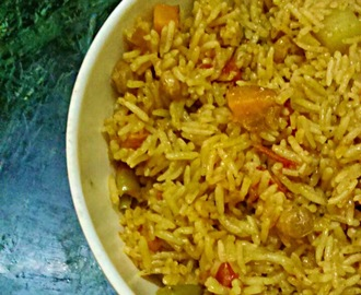 Chetinad Vegetable Biriyani | How to make Chetinad Vegetable Biriyani