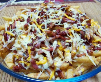 Bacon Cheese Fries (Foster's Hollywood)