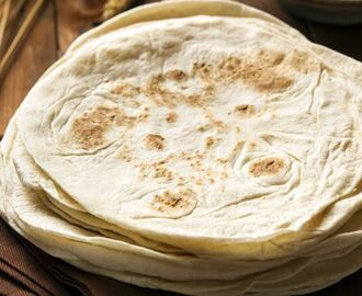 Tortillas de trigo mexicanas