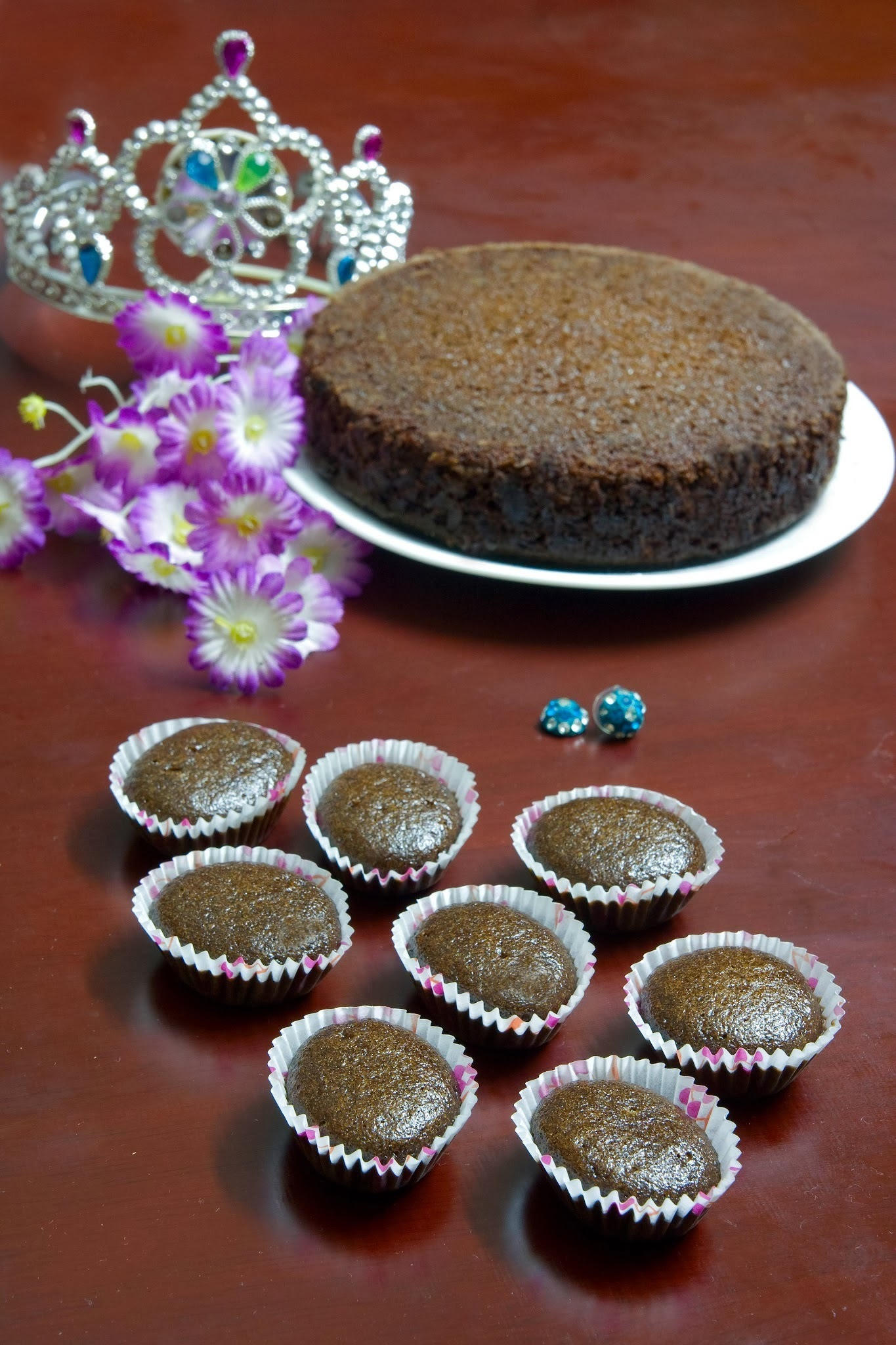 Chocolate Cup Cake (Egg less, Butter less)