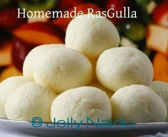 Homemade RasGulla | RoshoGolla | Cheeseballs in Sugar Syrup Recipe
