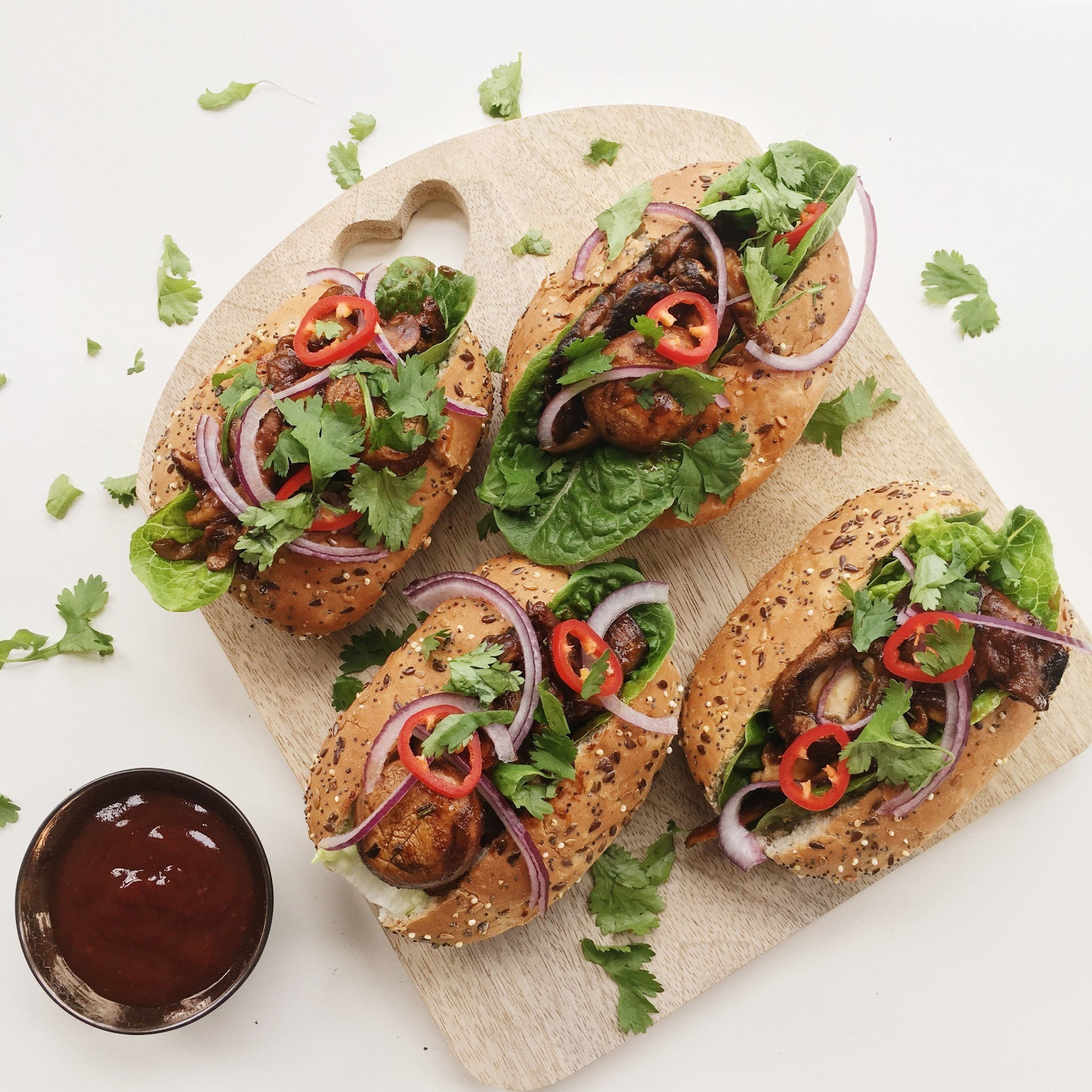 Introducing Food Love Stories by Tesco & a Vegan BBQ 'Shroom Buns Recipe