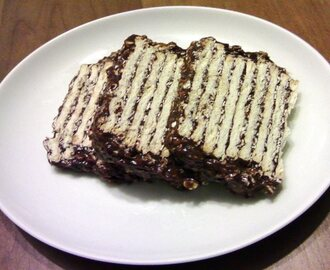 Turrón de Quaker {avena, galletitas y chocolate}