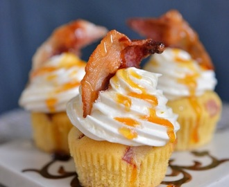 Cupcakes med Bacon - Say what!!