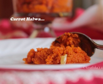 Carrot Halwa Recipe without Grating /Gajar Halwa /Punjabi Gajar Ka Halwa