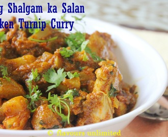 Murg Shalgam ka Salan | Chicken n Turnip Curry