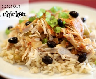 Easy Crock Pot Recipes: Mexican Fiesta Chicken