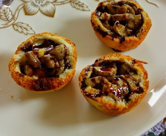 Nutella Banana Bread cups