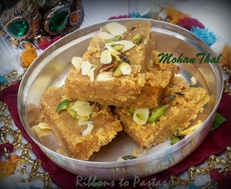 Mohanthal - Traditional Gujarati Sweet for Indian Cooking Challenge