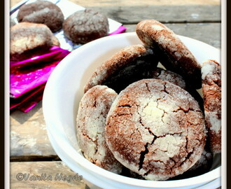 Chocolate Honey Cookies – whole wheat and eggless, a guilt free indulgence