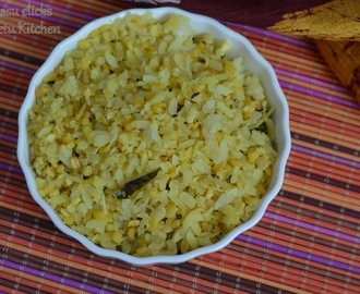 Poha Moongdal- Breakfast Recipe under 15 minutes