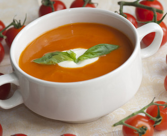 Soupmaker:  Cream of Tomato & Basil Soup Recipe