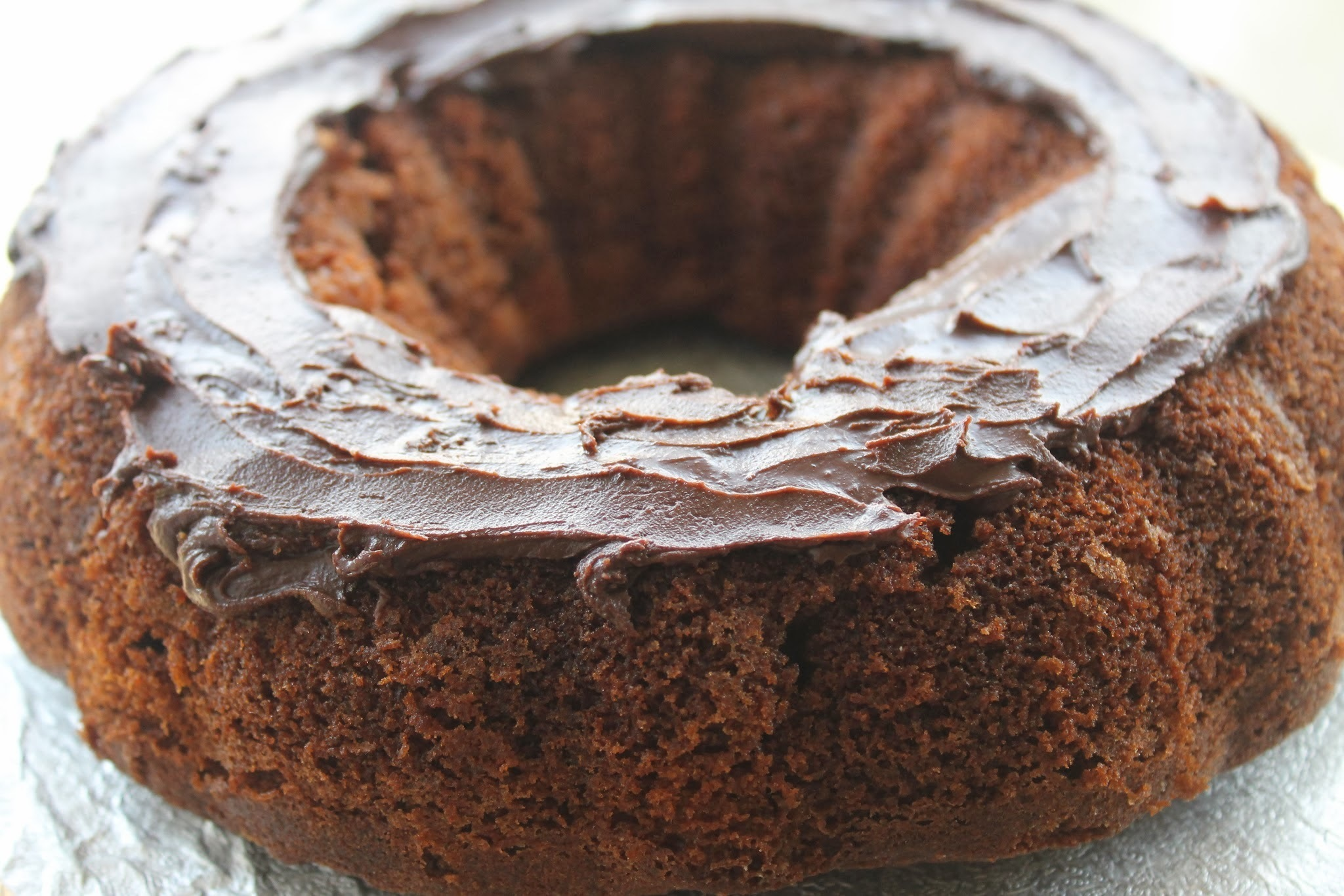 Chocolate Orange Bundt Cake - O is for...Orange