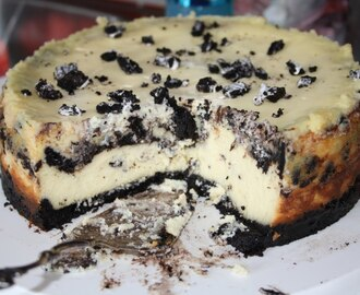 Oreo cheese cake - Oppskrift