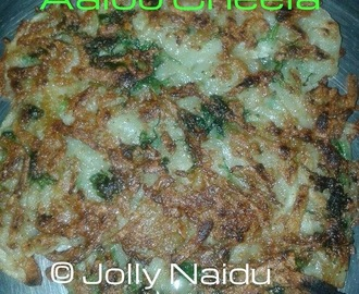 Crispy Aloo Cheela | Potato Pancake Recipe