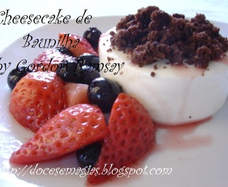 Cheesecake de Baunilha by Gordon Ramsay