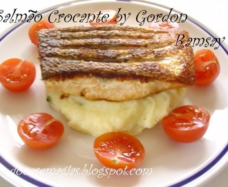 Salmao Crocante (Crispy Salmon) by Gordon Ramsay