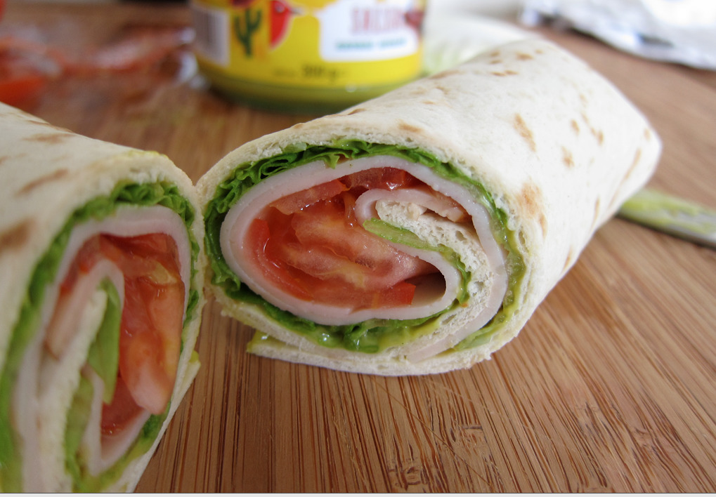 Wraps mexicains
