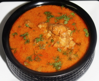 hyderabadi chicken curry recipe, chicken hyderabadi