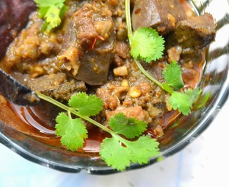Keema Kaleji: Mince Meat and Liver Cooked Indian Style