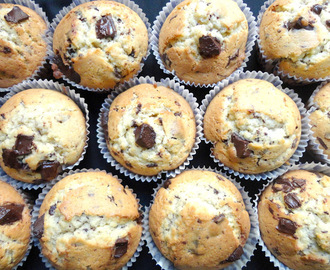 Chips chocolate muffins