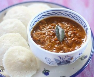 The Sambhar Chutney, Best Chutney For South Indian Dishes