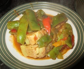 Spicy Pork with Flat Green Beans