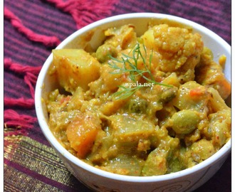 Mixed Veg Sabzi (In Sweet Corn Gravy)