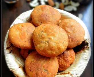 DRY FRUIT KACHORI / DRY KACHORI RECIPE