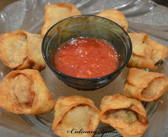FRIED CHICKEN WONTONS