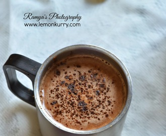hot chocolate recipe - chocolate recipes