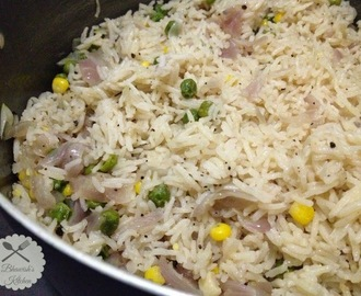 Fragrant Butter Rice / Butter Pulao