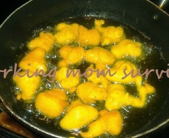 Pakoda Kadi Recipe / Besan Pakoda kadhi - Gram flour and yogurt curry recipe