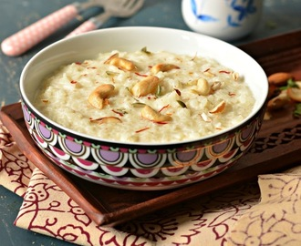 Rice Kheer :: Chaawal ki kheer :: Simple kheer recipe
